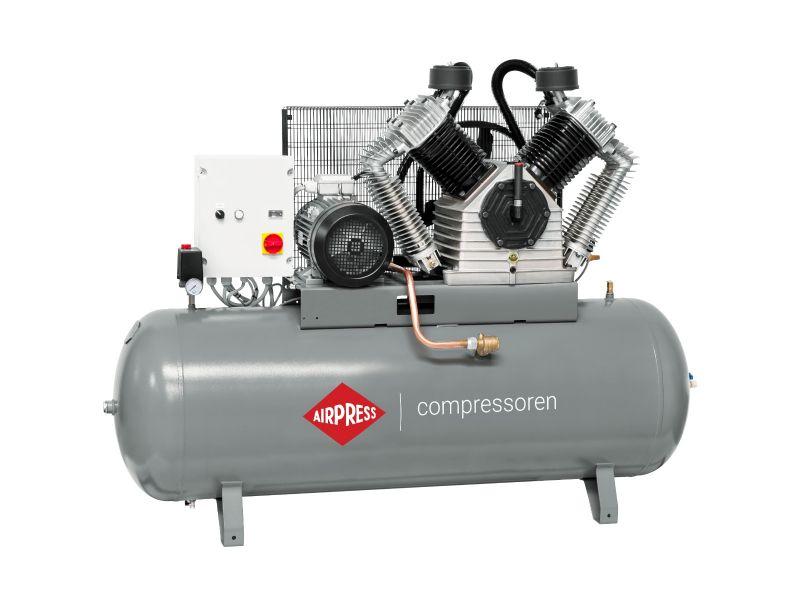 Kompressor HK 2500-500 SD Pro 11 bar 20 PS/15 kW 1700 l/min 500 l mit Stern Dreieck Schaltung