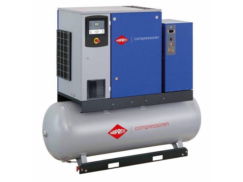 Schraubenkompressor APS 10DD IVR Combi Dry 12.5 bar 10 PS/7.5 kW 270-1260 l/min 500 l