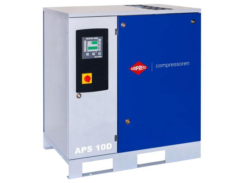 Schraubenkompressor APS 10D 10 bar 10 PS/7.5 kW 1000 l/min