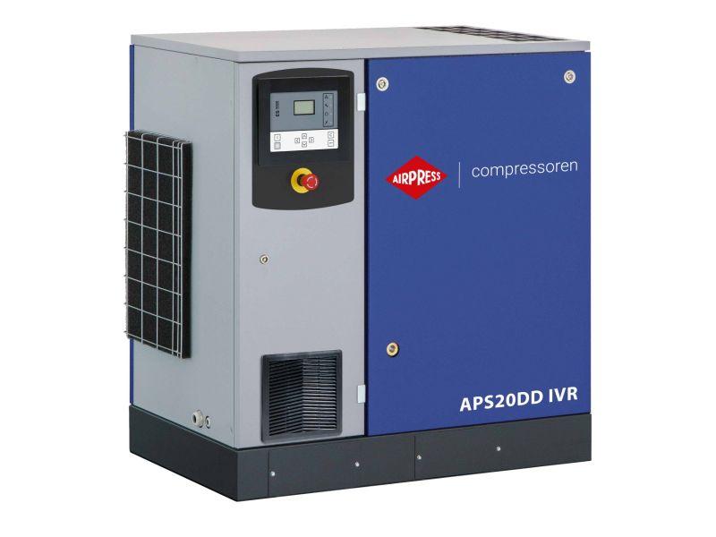 Schraubenkompressor APS 20DD IVR 12.5 bar 20 PS/15 kW 258-2290 l/min