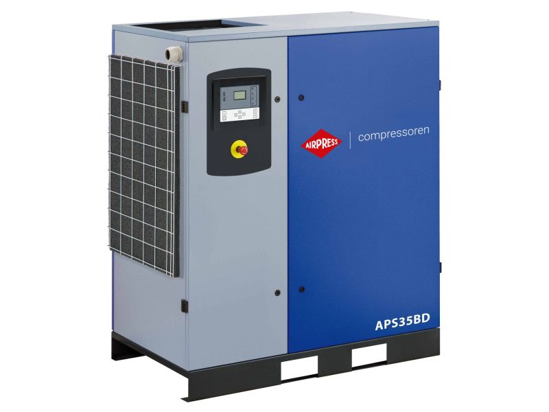 Schraubenkompressor APS 35BD 10 bar 35 PS/26 kW 3935 l/min