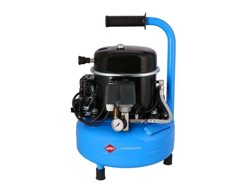 Flüsterkompressor L 9-75 8 bar 0.5 PS/0.34 kW 60 l/min 9 l