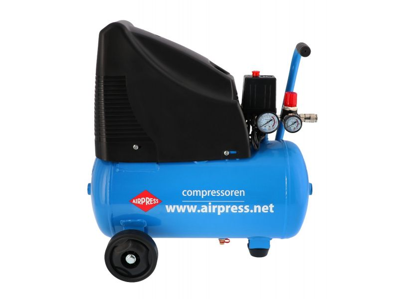 Kompressor HLO 215-25 mit Zubehör 8 bar 1.5 PS/1.1 kW 172 l/min 24 l