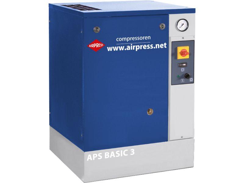 Schraubenkompressor APS 3 Basic 10 bar 3 PS/2.2 kW 240 l/min