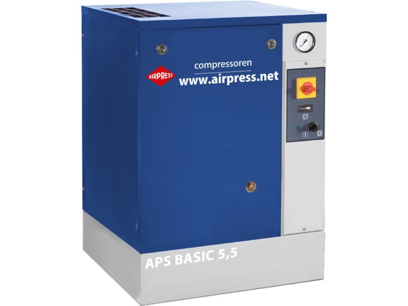 Schraubenkompressor APS 5.5 Basic 10 bar 5.5 PS 470 l/min