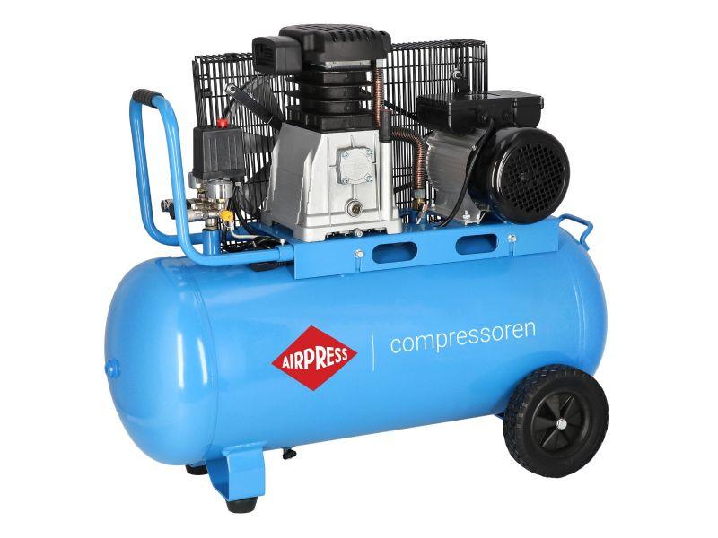 Kompressor HL 340-90 10 bar 3 PS/2.2 kW 272 l/min 90 l