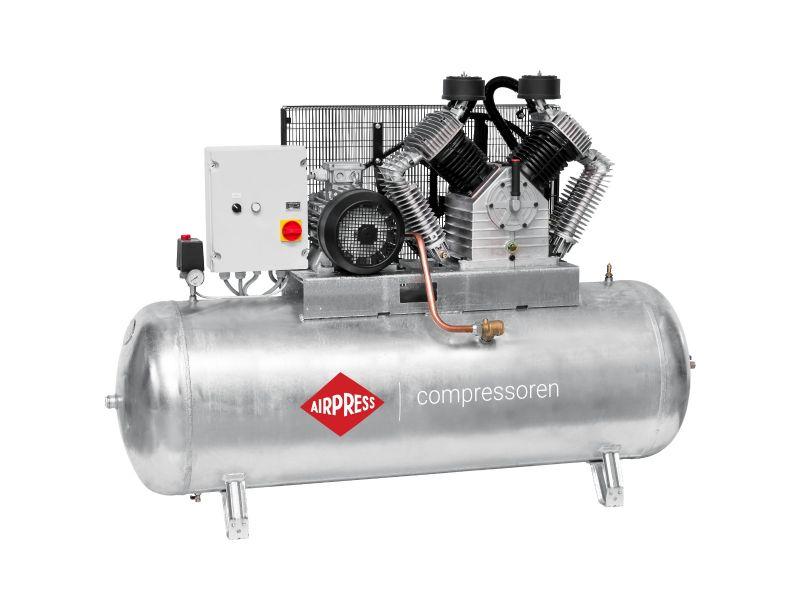 Kompressor G 2000-500 SD Pro 11 bar 15 PSW/11 kW 1395 l/min 500 l galvanisierter mit Stern Dreieck Schaltung