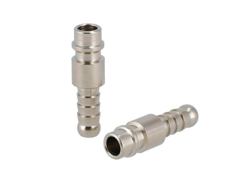 Stecknippel Euro Schlauchanschluss 8 mm - 2 Stück in Blister