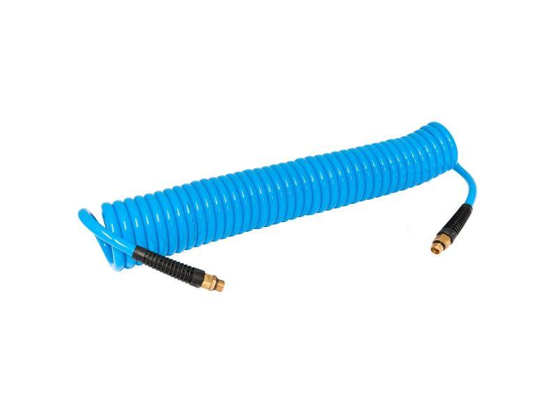 Druckluft Spiralschlauch 15 m 8 mm 12 bar