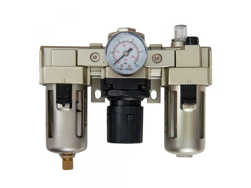 Wartungseinheit Öl-/Wasserabscheider Druckminderer Öler 1/4