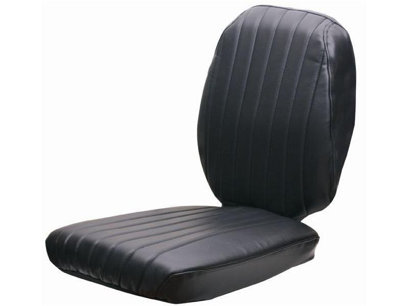 Sitzbezug 2-teilig Stoff schwarz GS12