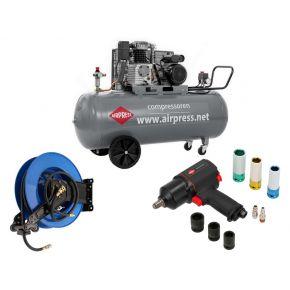Kompressor HL 425-200 Pro 10 bar 3 PS/2.2 kW 280 l/min 200 l Plug & Play