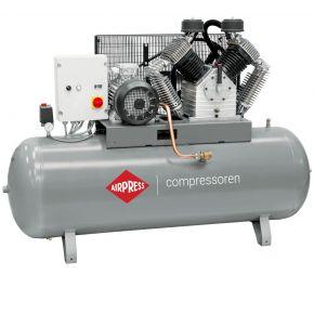 Kompressor HK 2000-500 SD Pro 11 bar 15 PS/11 kW 1395 l/min 500 l mit Stern Dreieck Schaltung