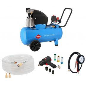 Kompressor HL 360-50 10 bar 2.5 PS/1.8 kW 288 l/min 50 l Plug & Play