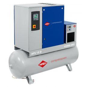 Schraubenkompressor APS 15D Combi Dry 10 bar 15 PS/11 kW 1400 l/min 500 l