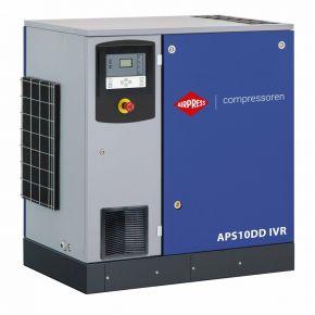 Schraubenkompressor APS 10DD IVR 12.5 bar 10 PS/7.5 kW 270-1125 l/min