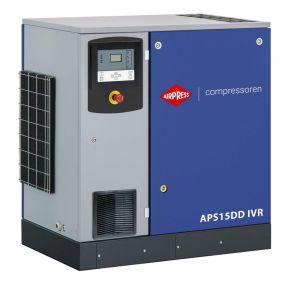 Schraubenkompressor APS 15DD IVR 12.5 bar 15 PS/11 kW 265-1860 l/min