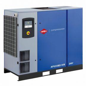Schraubenkompressor APS 35BD IVR Dry 13 bar 35 PS/26 kW 770-4835 l/min