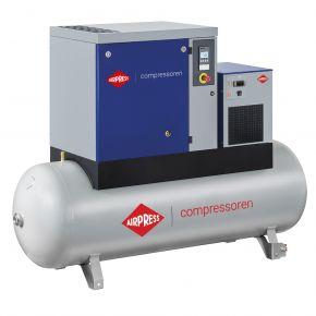 Schraubenkompressor APS 10 Basic Combi Dry 8 bar 10 PS/7.5 kW 1140 l/min 500 l