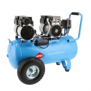 Flüsterkompressor Ölfrei LMO 50-270 8 bar 2 PS/1.5 kW 185 l/min 50 l