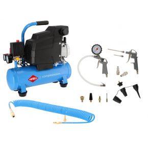 Kompressor H 185-6 8 bar 1.5 PS/1.1 kW 75 l/min 6 l Plug & Play