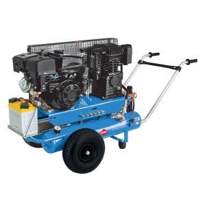 Mobiler Kompressor BM 17+17 10 bar 5.5 PS/4 kW 450 l/min 2 x 17 l