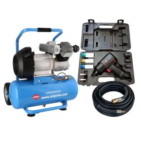 Kompressor LM 25-350 10 bar 3 PS 280 L/Min 25 l Plug & Play