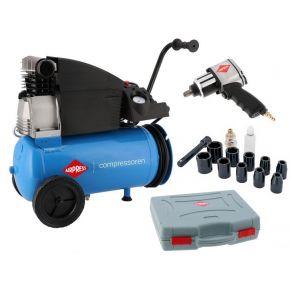 Kompressor H 360-25 10 bar 2.5 PS/1.8 kW 288 l/min 25 L Plug & Play