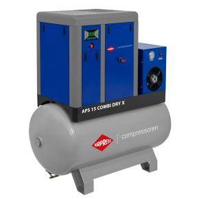 Schraubenkompressor APS 15 Combi Dry X 10 bar 15 PS/11 kW 1410 l/min 500 l