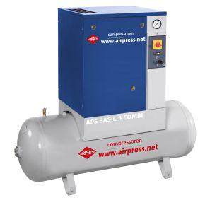 Schraubenkompressor APS 4 Basic Combi 10 bar 4 PS 320 l/min 200 l