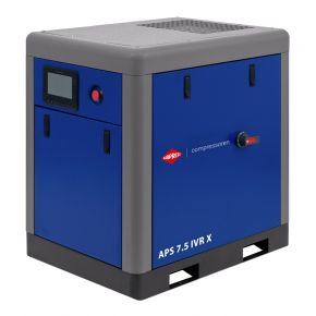 Schraubenkompressor APS 7.5 IVR X 10 bar 7.5 PS/5.5 kW 170-690 l/min