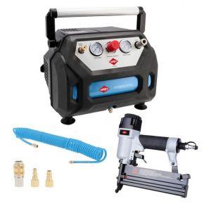 Ölfreier Minikompressor H 215-6 8 bar 1.5 PS/1.1 kW 92 l/min 6 l Plug & Play
