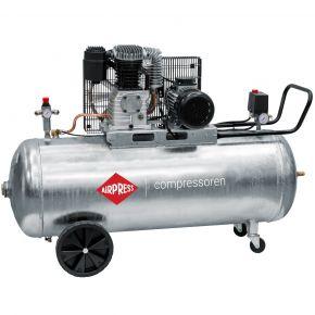 Kompressor G 600-200 Pro 10 bar 4 PS/3 kW 380 l/min 200 l galvanisiert