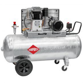 Kompressor G 700-300 Pro 11 bar 5.5 PS/4 kW 530 l/min 270 l galvanisiert
