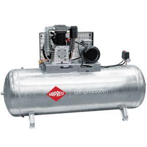 Kompressor G 1000-500 Pro 11 bar 7.5 PS/5.5 kW 698 l/min 500 l galvanisiert