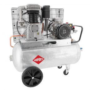 Kompressor G 700-90 Pro 11 bar 5.5 PS/4 kW 530 l/min 90 l 400V