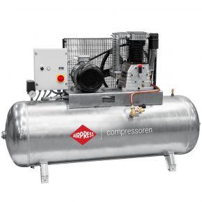 Kompressor G 1500-500 SD Pro 14 bar 10 PS/7.5 kW 686 l/min 500 l galvanisiert mit Stern Dreieck Schaltung