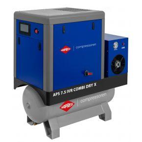 Schraubenkompressor APS 7.5 IVR Combi Dry X 10 bar 7.5 PS/5.5 kW 170-690 l/min 200 l