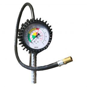 Reifenfüller mit langem Druckluftschlauch 75 cm Ø 7,5 cm