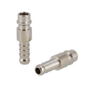 Stecknippel Euro Schlauchanschluss 8 mm - 2 Stück