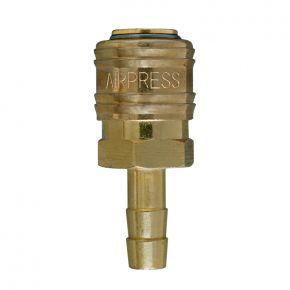 Druckluftkupplung Euro 8 mm Schlauchanschluss in Blister