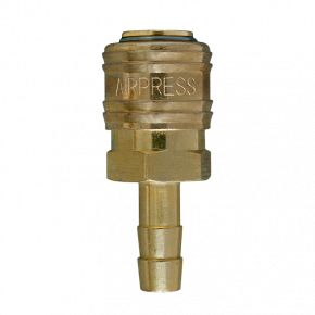 Druckluftkupplung Euro 10 mm Schlauchanschluss in Blister