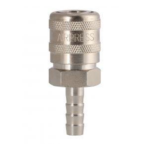 Schnellkupplung type Orion klein 8 mm mit Schlauchanschluss in Blister