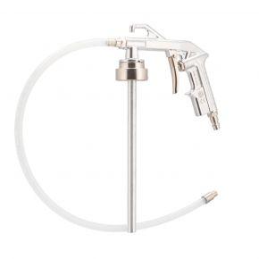 Unterbodenschutzpistole mit flexiblen Ausgang