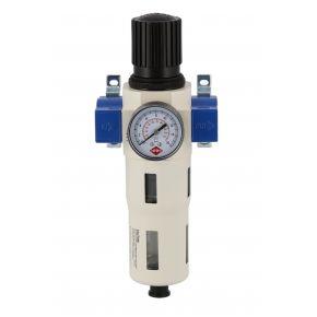 """Filterdruckminderer Öl-/Wasserabscheider und Druckminderer 1/4"""" 15 bar"""