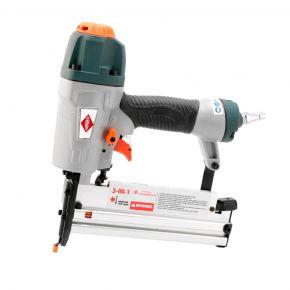 Kombinagler Drucklufttacker Klammern 90 bis 40 mm / Druckluftnagler Nägel bis 50 mm
