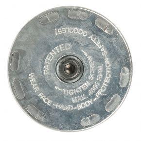 Halter für Lamellenscheibe & 23 mm Drahtbürste