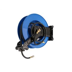 Druckluft Schlauchaufroller 15 m 9.5 x 13 mm PU Metallrahmen