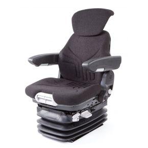 Traktorsitz Maximo Comfort Plus Stoff Schwarz
