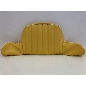 Hedo Sitzbezug Rückenteil gelb